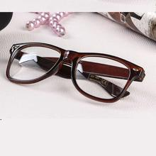 M84 Vintage Student Non-Mainstream Clear Lens Glasses Frame Leopard Print Eyeglasses Men Women Decoration Optical Lens Eye Frame