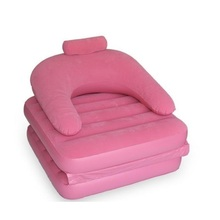 4841 Shipping lazy inflatable sofa bed lovely creative single tatami / folding chair(China)