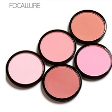 Focallure Professional Face Makeup Blusher Natural Pigments Minerals Matte Baked Bronzer Blush Brand Makeup(China)