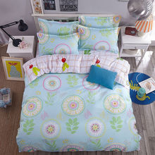 New 4pcs 100% Polyester Bedding Set Twin Full Queen King Size Duvet Cover Bed Sheet Pillow Case Bed Linen Set Home Textile