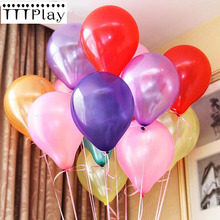 10pcs/lot 12 Inch 2.8g Latex Balloons Orange Globos Party Inflatable Air Balls Wedding Decoration Happy Birthday Party Supplies(China)