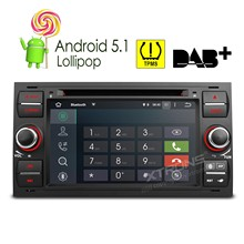 "7"" Android 5.1 OS Special Car DVD for Ford Connect 2007-2009 & Focus 2005-2007 & Kuga 2008-2011 & S-Max 2007-2009(China)"