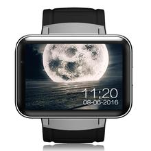 DM98 2.2 inch Smart Watch Phone Android 5.1 MTK6572 Quad Core 512MB/4GB WiFi GPS Google Now 0.3MP Camera for Android