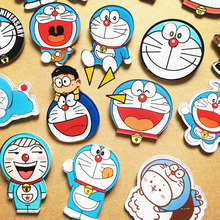 Free Shipping Doraemon jingle cats big eye Institute of monster Harajuku style brooch pin bag act the role ofing is tasted