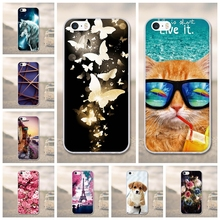 Phone Cases for iphone 5s se case Silicon for iphone 5 case cute Soft TPU Phone Cover For iPhone SE Case For iphone 5 5s Silicon(China)