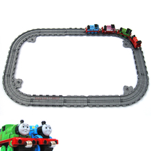 Plastic Railway Straight and Curved Expansion Track For Thomas Friends Take-n-Play Motorized Electric Train TrackMaster Toys(China)