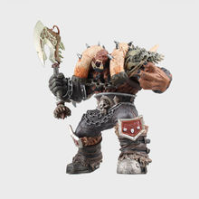 "WOW World of Orc Statue Figure High Quality Wolf Rider 10"" Toy Collectibles Model Doll 217"