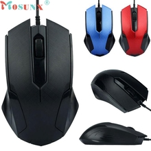 Mosunx Simplestone Mosunx  1200DPI USB Wired Optical Gaming Mice Mouse For PC Laptop 0109
