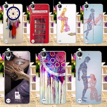 Fashion Sexy Painted Phone Case For HTC Desire 530 630 5.0 inch Condoms Colorful Multi Style Dream Catcher Hard Cover Phone Skin