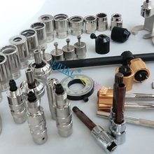 ERIKC Liseron common rail injector dismantling and diesel injector removal tool,auto body repair tools total 38 pieces
