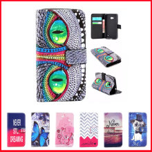 For Nokia Lumia 640 LTE Case Luxury Wallet PU Leather Phone Cover For Microsoft Lumia 640 LTE Dual SIM Case Flip back Cover Skin