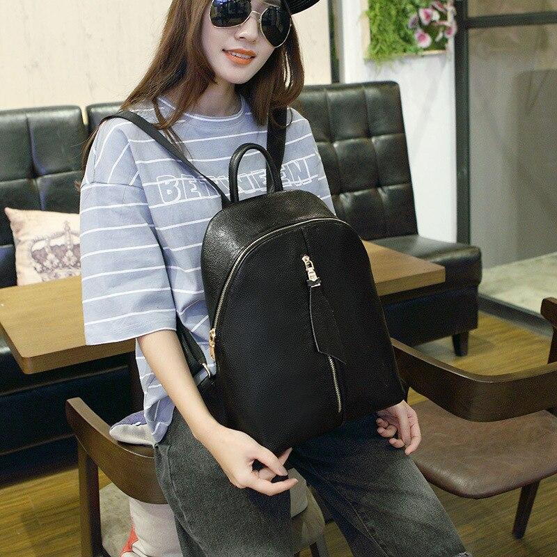100% Genuine leather Multi-functional Lady Backpack Designer Female Backpacks Fashion Genuine Leather Backpack Travel Bag<br>