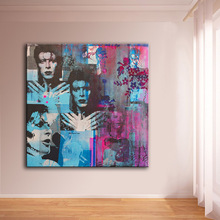 Large sizes Wall Art Prints Fine Art Prints oil Painting Wall Decor David Bowie Painting for Print Wall picture NO FRAME
