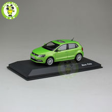 1:43 Scale VW Volkswagen new polo Diecast Car Model Toys Green