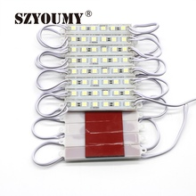 SZYOUMY LED Module 5050 6 LED 12V Waterproof Advertisement Design Led Modules Super Bright ,White/Warm White/Red/Green/Blue