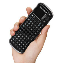 2.4GHz Wireless Keyboard 2.4G RF Touchpad with Smart TV PC Remote Free Shipping H3T5