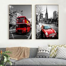 Diamond Painting Cars Vintage Double-Decker Mosaic Buses Picture Rhinestone Artwork DIY Europe Style Full Embroidery Diamond