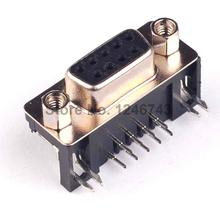 DB-9 50PCS DB9 Female PCB Mount D-Sub 9Pin PCB Connector RS232 Connector In Stock