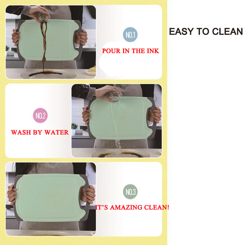 HADELI Antibacterial Chopping Board Multifunction PP Plastic Heat Resistant Dishwasher Blocks Cutting Boards Kitchen Tools 4