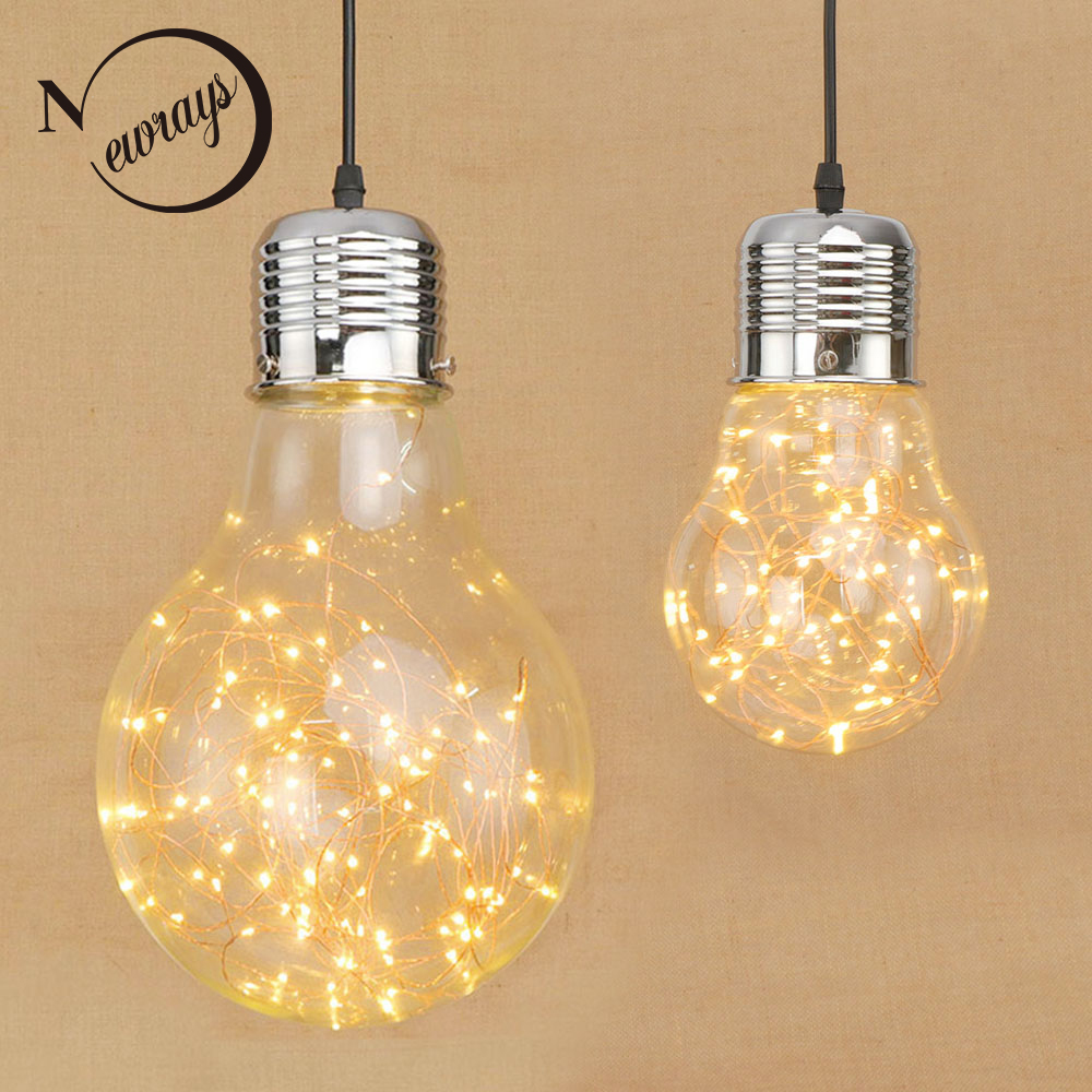 Modern hanging Glass lampshade Pendant Lamp LED lustres pendant Lights Fixtures for Holiday light Restaurant living room bedroom<br>
