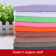 Eco-friendly cotton polyester fabric thin could see through for cardigan t shirt 50*160cm/piece A0169(China)
