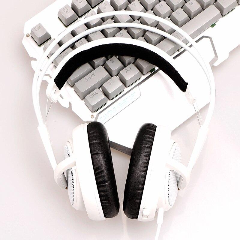 Steelseries Siberia V2 200 White Gaming Headphone Noise Isolating Game Headphones Headset for Gamer<br>