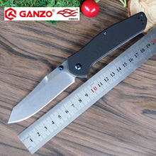 58-60HRC Firebird Ganzo F7562 440C blade Folding knife Survival Camping tool Hunting Pocket Knife tactical edc outdoor tool