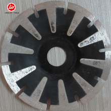 125x7x22.23-15.88mm T shape cold press segment diamond saw blade for bricks, granite,marble and concrete.(China)