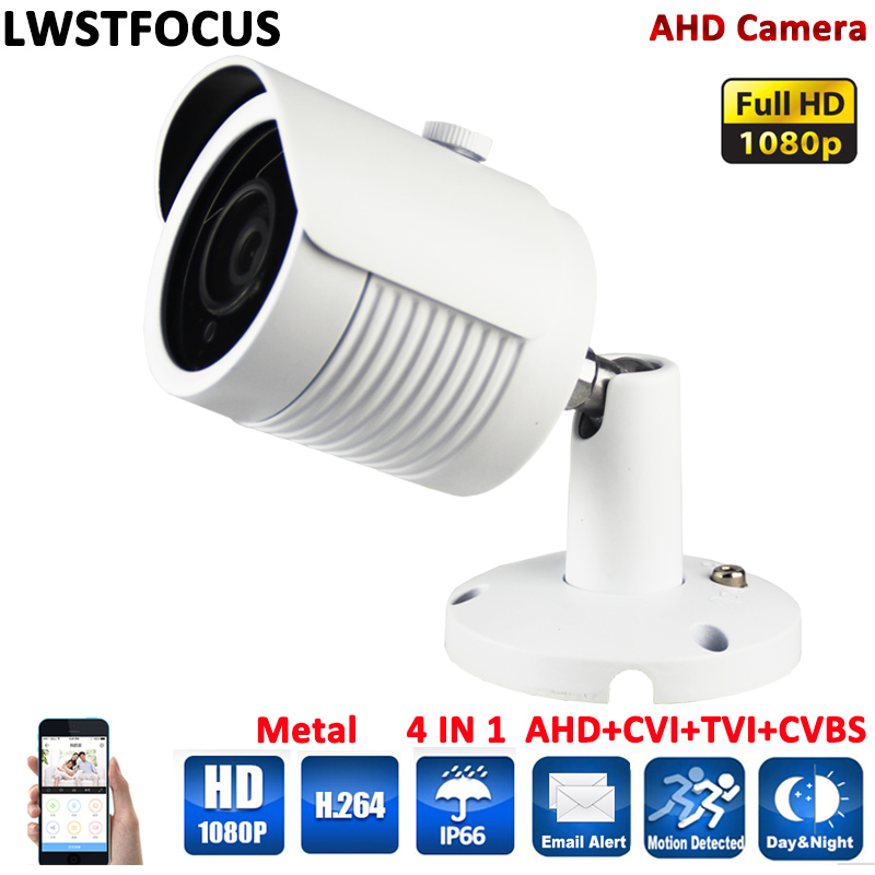 AHD Camera Full HD 1080P Metal Housing Array IR 30Meter 3.6mm lens A AHDH Camera outdoor Security Surveillance Camera AHD 1080P<br>