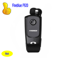 FineBlue F920 Mini Bluetooth Headset Remind Vibration Wear Clip Sports Running Earphone for Phone(China)