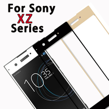 Buy sony xperia xz premium glass sony xperia xz1 glass xz1 xz2 compact screen protector tempered glas film full cover for $1.41 in AliExpress store