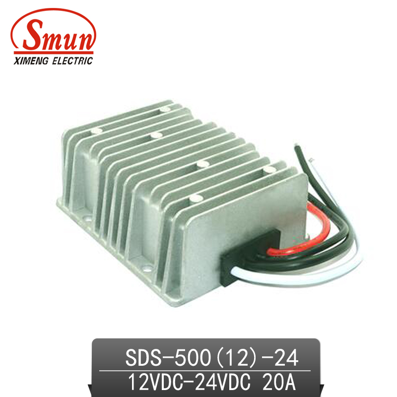 SMUN 12V-24VDC 20A DC-DC Converter Car Power Supply With CE RoHS Approved<br>