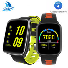 Buy YH MTK2502 Smart Watch IP68 Waterproof Bluetooth 4.0 Sport Heart Rate Water Clock Message Call Reminder IOS Android GV68 for $48.63 in AliExpress store