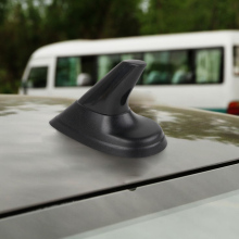 DWCX New Car Styling Dummy Shark Fin Style Black Aerial Antenna Fit for SAAB 9-3 1999-2009 SAAB 9-5 1999-2007 Sport Aero Wagon