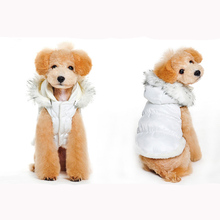Winter Pet Dog Jacket Winter Warm Dog Clothes Waterproof Thick Vest Fleece Dog Coat for Small Dogs Cats(China)