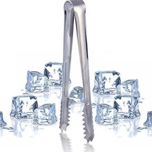 New Ice Tongs Tool Bar Kitchen Accessories Stainless Steel Barbecue BBQ Clip Bread Food Ice Clamp 1pcs/lot