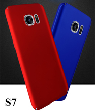 Luxury Ultrathin Matte Full Protect Phone Cover Top quality soft handle PC case cover For Samsung Galaxy S7 G9300(China)