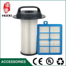 150*120*24mm Size blue hepa air filter+185*157mm size hepa air filter Element parts of  Vacuum Cleaner  FC9200 FC9201  ZE346B