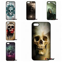For Samsung Galaxy A3 A5 A7 A8 A9 J1 J2 J3 J5 J7 Prime 2015 2016 2017 Cute Halloween Colorful Skull Pastel Art Case Cover