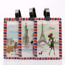 2017 New Arrival 24 Different Designs Cartoon Style Luggage Tags Waterproof Travel Suitcase Bag Tag 11*7.5CM(China)