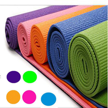 Thinner yoga mat PVC Exercise Yoga Mat Pad NonSlip Lose Weight Exercise Fitness Folding Gymnastics Mat for Fitness Free Shipping