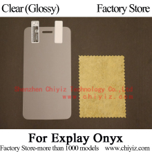 Clear Glossy Screen Protector Guard Cover protective Film For Explay Onyx(China)