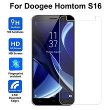 Buy HOMTOM S16 Tempered Glass 5.5 inch 9H 2.5D Premium Screen Protector Film Doogee HOMTOM S16 Mobile Phone full cover case for $1.46 in AliExpress store