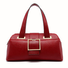 PU Leather Shoulder Bag Vogue Graceful European Messenger Hand Bag Unique Fashion Women Tote Ladies Totes Crossbody Bag for Work(China)