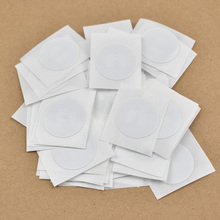 50pcs/Lot 25mm round Epaper rfid label sticker tag13.56MHz ISO1443A NTAG215 NFC Sticker for  Amiibos Tag For Tagmo