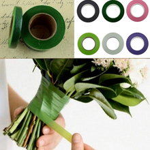 Fashion 30yards Florist Floral Stem Garland Tapes Artificial Flower Stamen Wrap Decor DIY Wreath Floral Crafts(China)