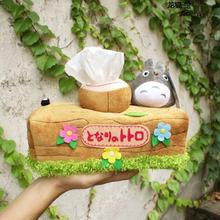 1Pcs Lovely Chinchillas Totoro Plush Doll Toy Tissue Boxes Extraction Household Product Totoro Gifts For Girls High quality
