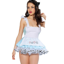Wonder beauty Hot Look Out Sexy Women Costume Fancy Sleeveless  Mini Dress Lady Cosply Costume Outfit  W208174