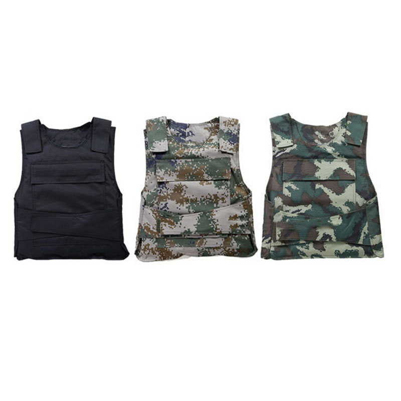 CCGK Bulletproof vest NIJ IIIA Soft Body Armor Kevlar Aramid Protect life safety The Actual War Military Protective clothing (8)