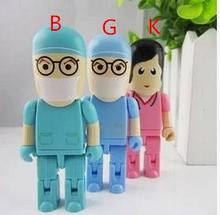 100% real capacity doctor /nurse usb bulk price 4GB 8GB 16G 32GB USB Flash  Drive Stick Pen/Thumb/Car USB S7